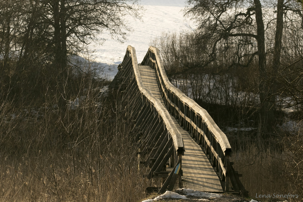 Gamla kyrkbron i Landeryd
